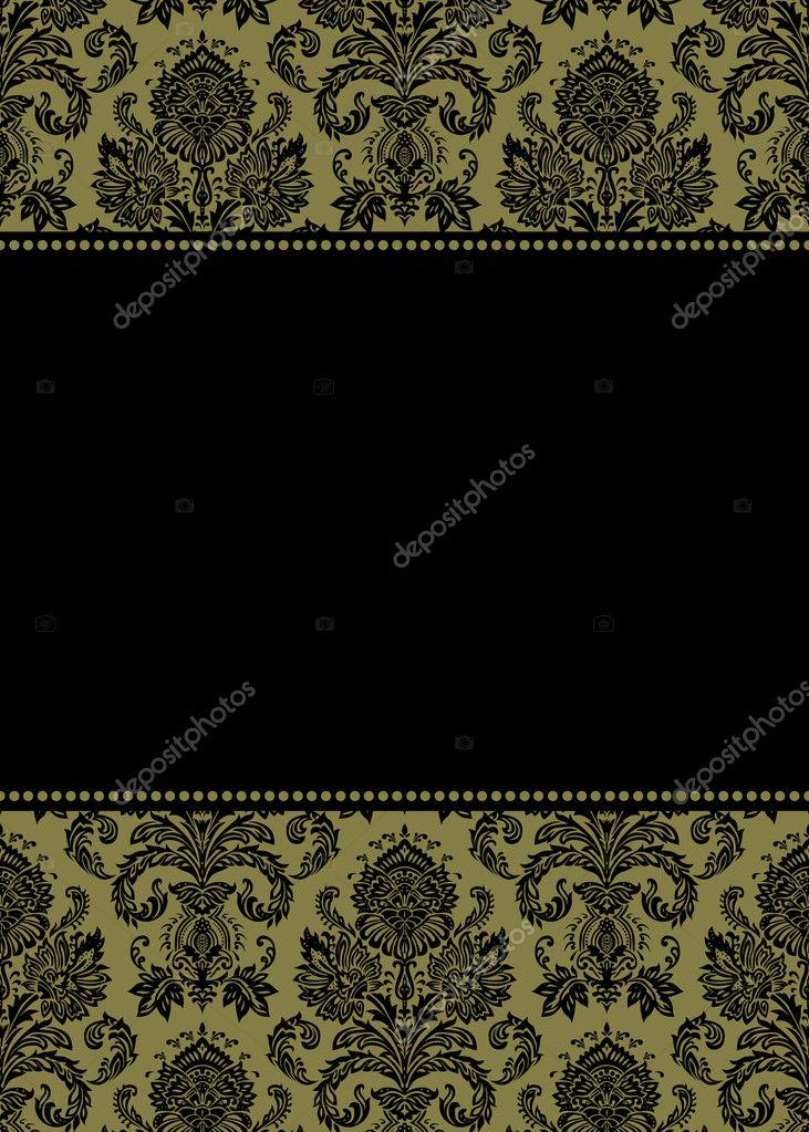 Marco Damasco oro — Fotos de Stock © createfirst #3501243