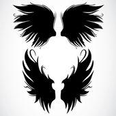 Gótikus szárnyas készlet
