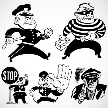 Vintage Cops and Robbers