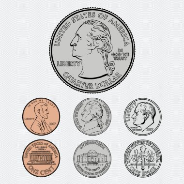 Coins with Background