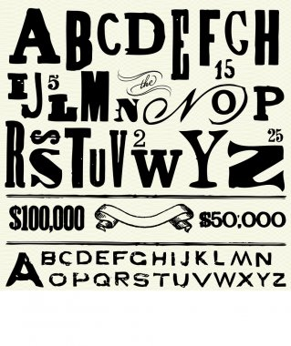 Old Type and Alphabet