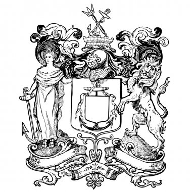Liberty and Lion Crests