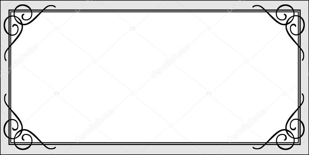 Certificate Frame — Stock Photo © createfirst #3521584