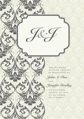 Ornate Frame and Borders Set and Pattern
