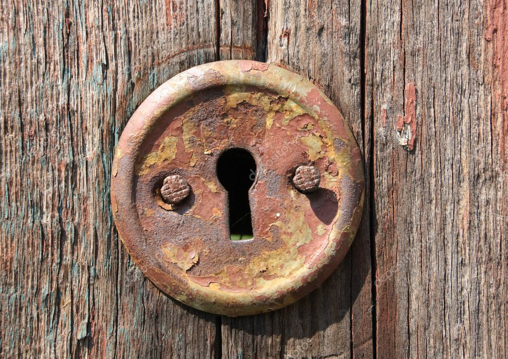 Keyhole Of Old Door Stock Photo 169 Pklimenko 2809745