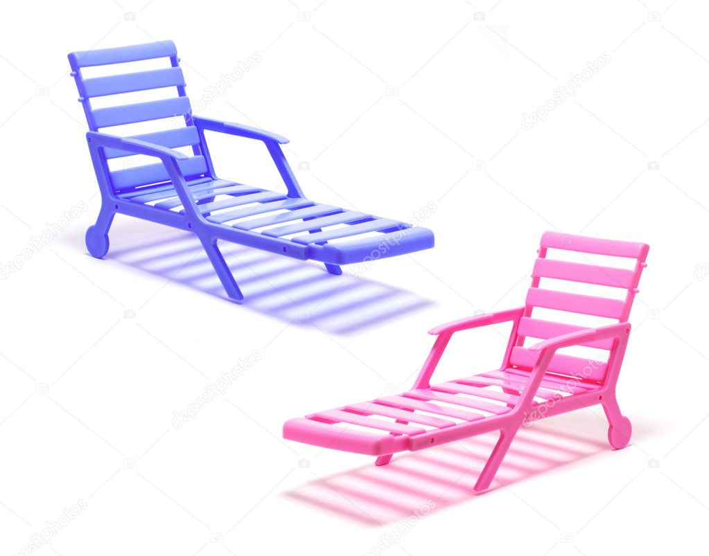 Sedie A Sdraio In Miniatura.Sedie A Sdraio In Miniatura Foto Stock C Newlight 3212252