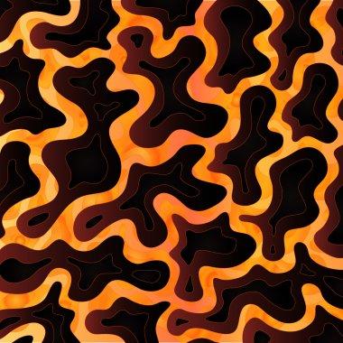 Abstract Molten Lava