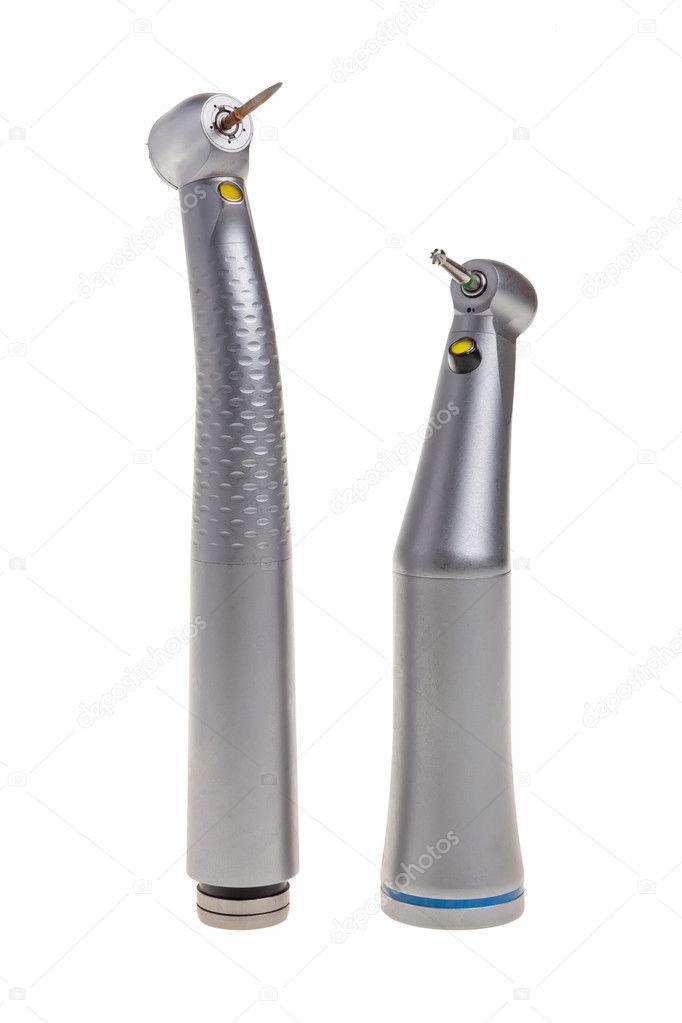 Dental drills tools.