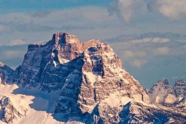 Pelmo mountain, Dolomites, Italy.