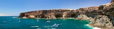 Ajui bay cliffs, Fuerteventura.