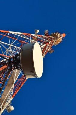Telecommunication mast.