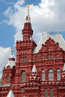 Historical Museum on Red Square in M