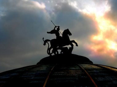 St George monument in Moscow