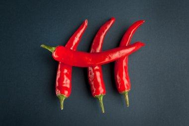 Pepper crosswise