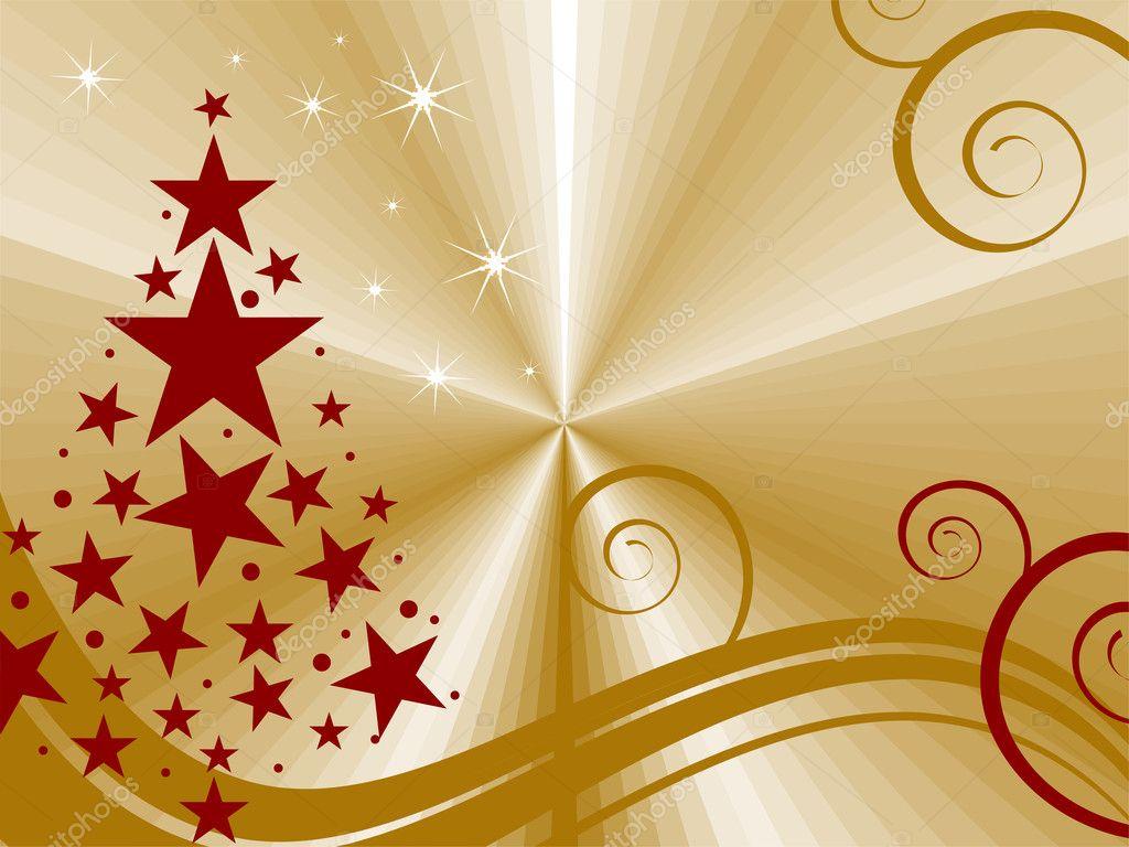 tarjeta de navidad elegante u archivo imgenes vectoriales