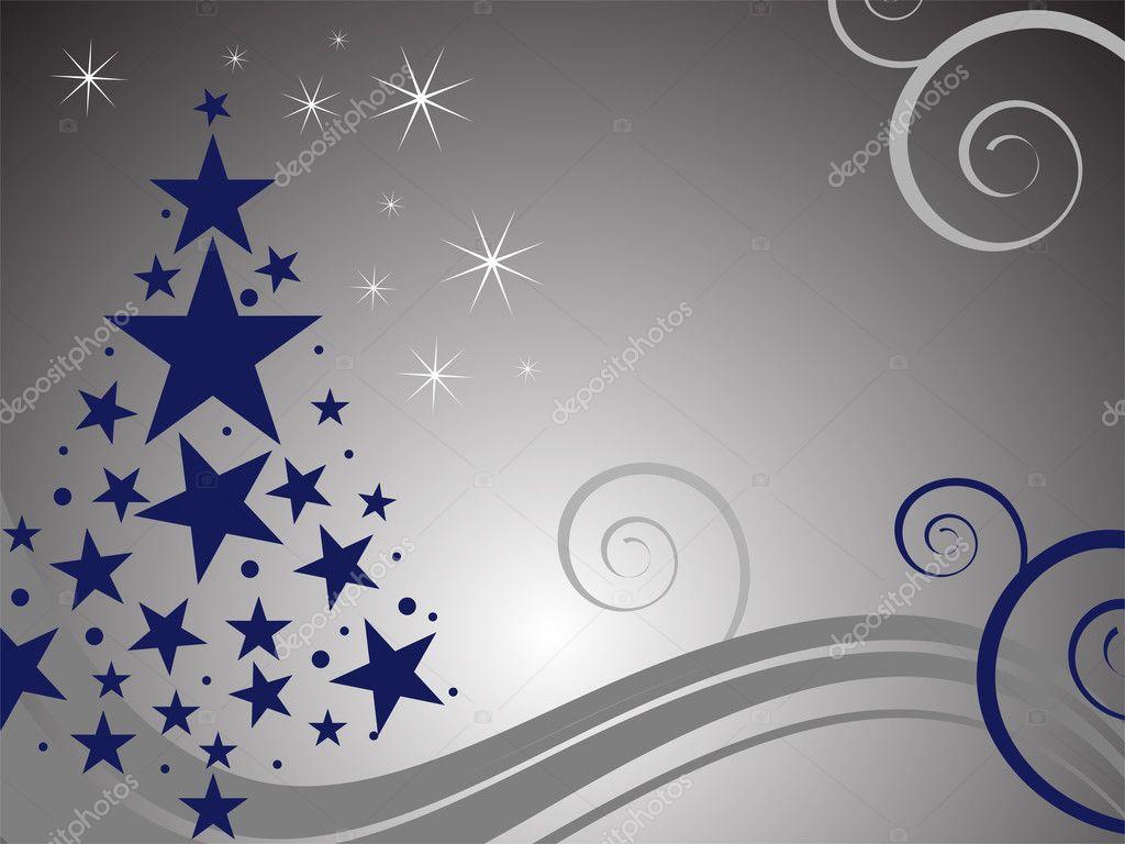 tarjeta de navidad elegante u vector de stock