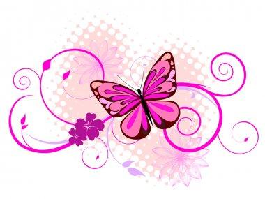 """Картина, постер, плакат, фотообои """"красочная бабочка """", артикул 3143295"""