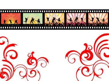 Dancing on film stripe