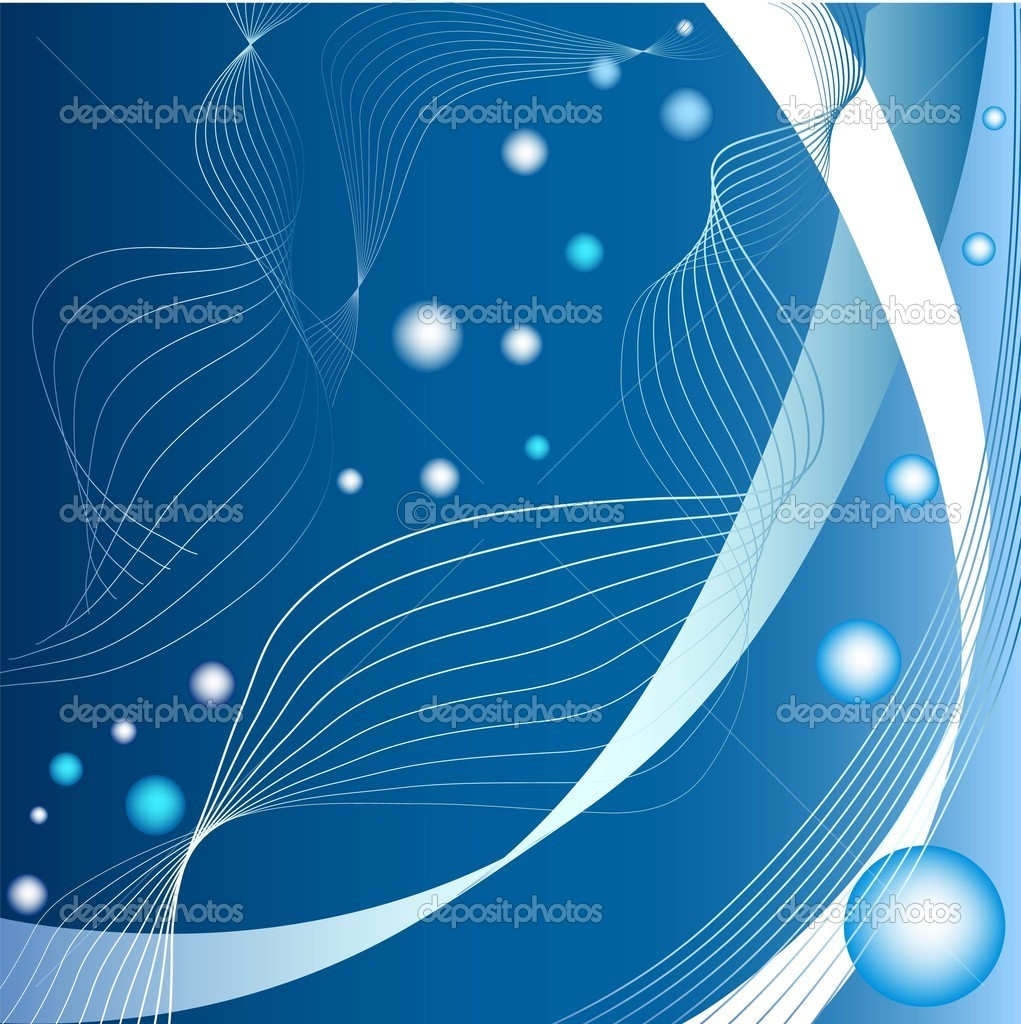 abstract blue curves background — stock vector © emaria #3667601