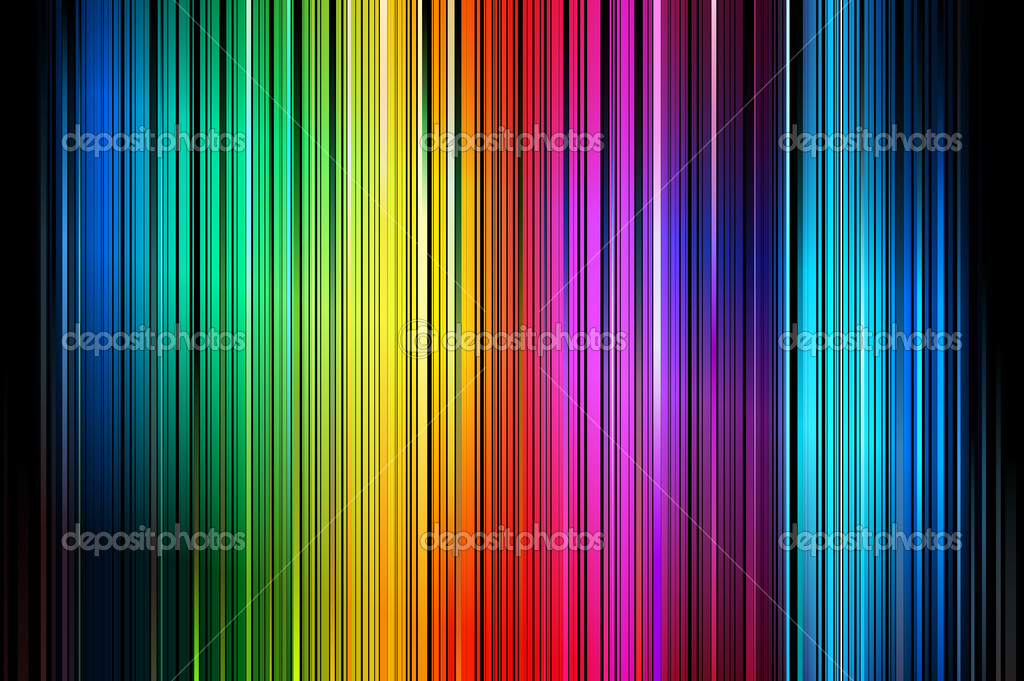 Abstract Colorful Vertical Striped Pattern Background