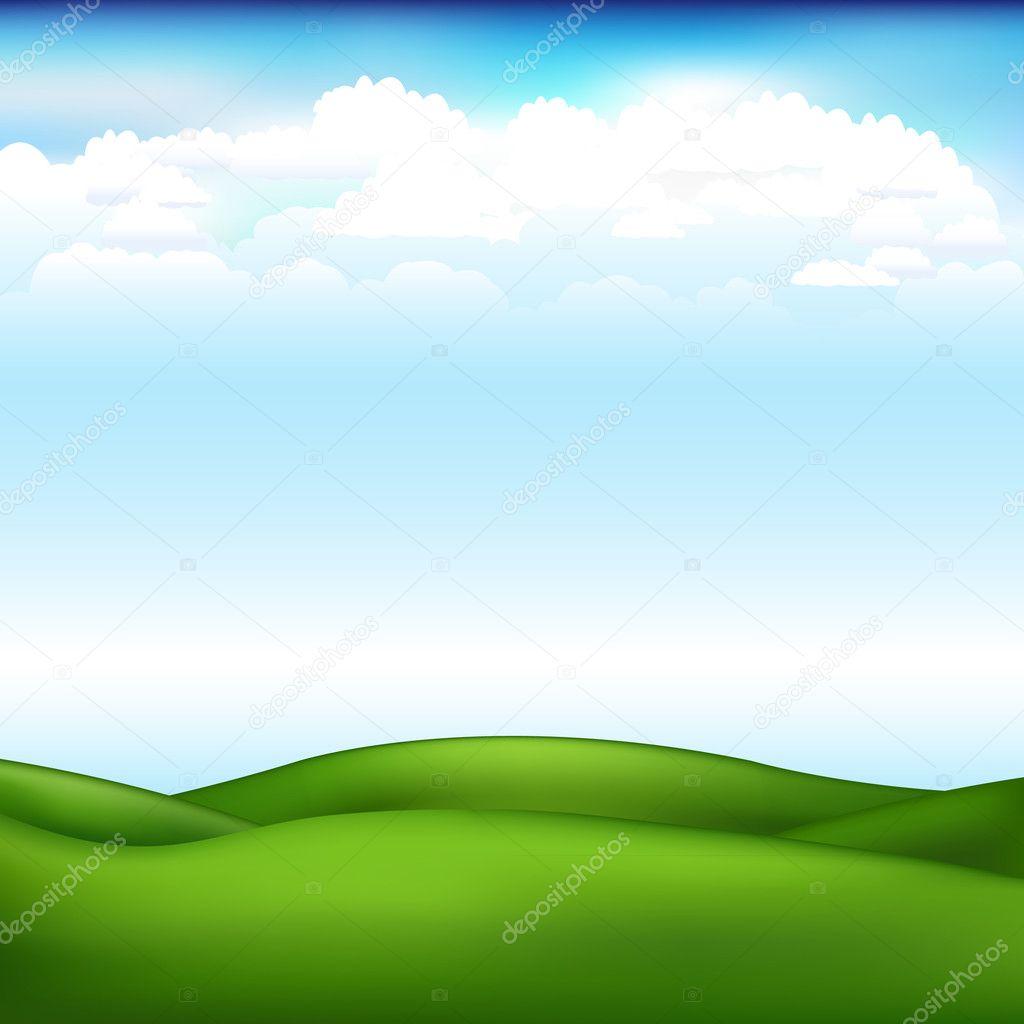 Beautiful Vector Landscape