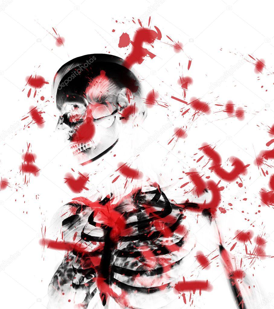 Anatomía de la sangre — Foto de stock © harveysart #3241293