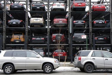New York multi story parking lots