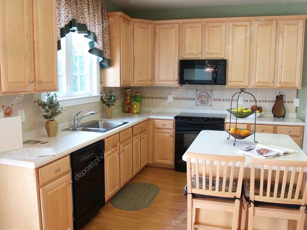 cocina moderna arce — Foto de stock © digerati #3483768