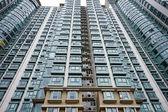 Fotografie Hong Kong Gehäuse Wohnblock