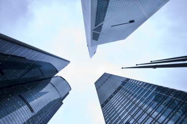 Modern building skyscrap
