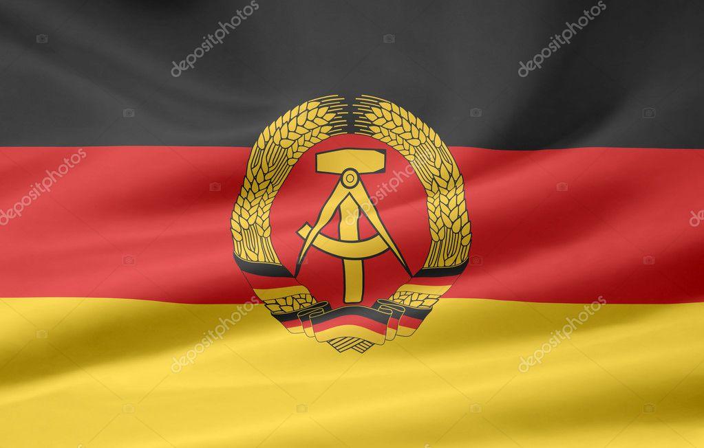 ドイツ民主共和国の旗 — ストッ...