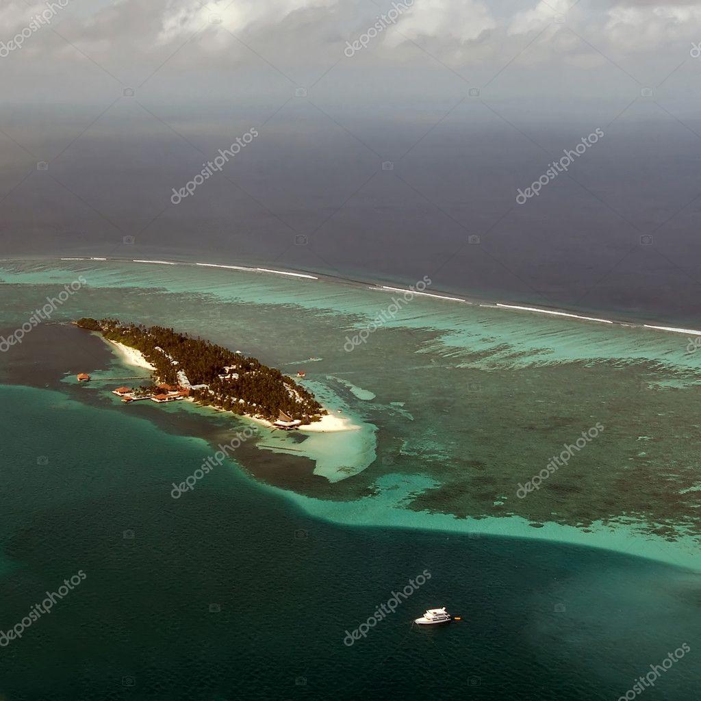 Atoll in Maldives