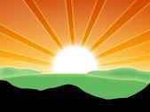 krajina s slunce