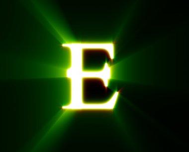 E,shine, green