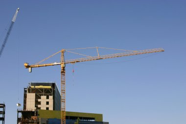 Construction site & the Crane