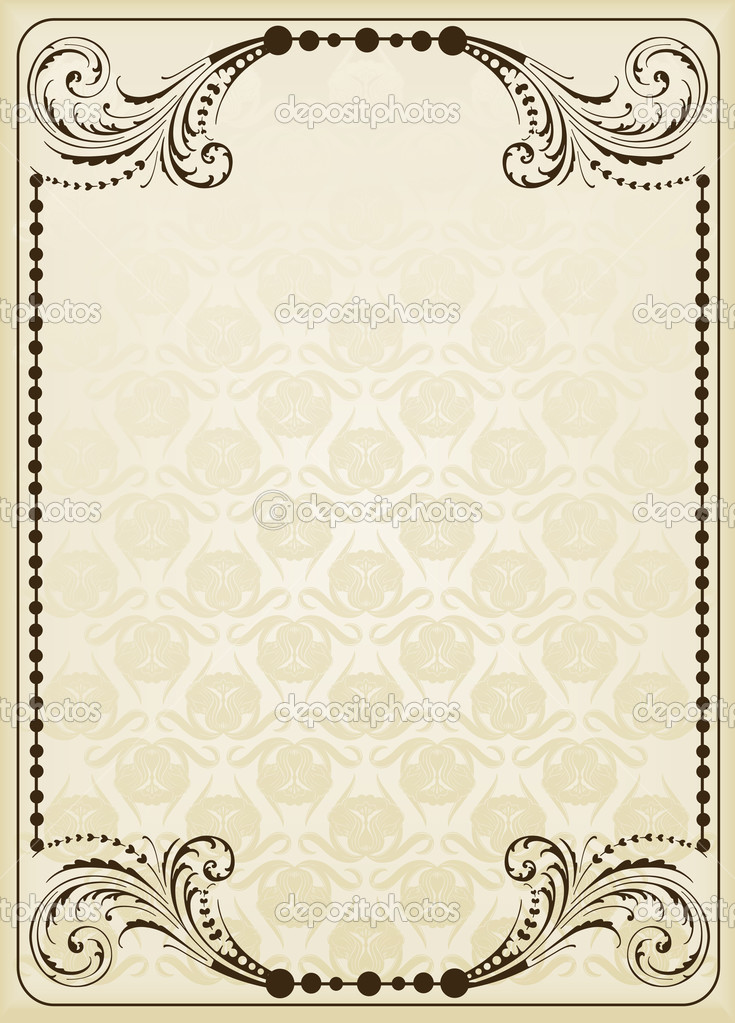 Book Cover Background Images : Vintage background for book cover — stock vector krabata