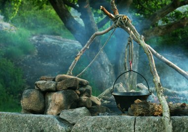 Cooking in Caldron