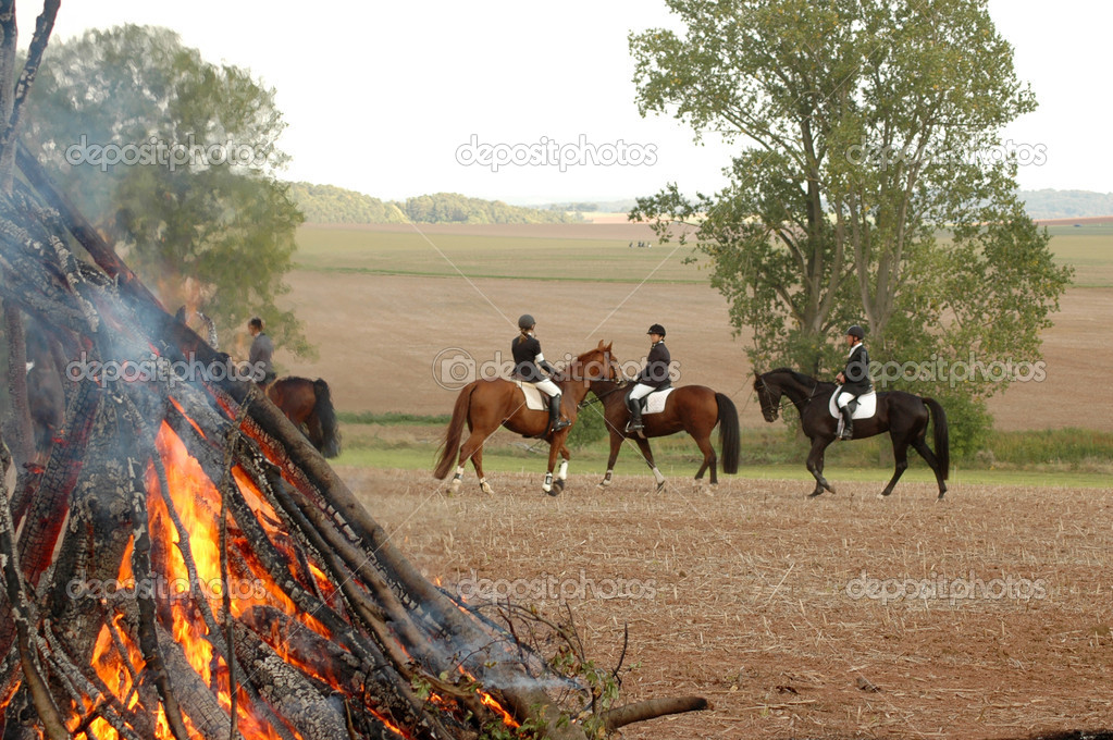 Fire and Riders.