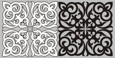 Kazakh pattern