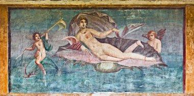 """Картина, постер, плакат, фотообои """"affresco di Venere nella casa di Venere, Pompei"""", артикул 2708370"""