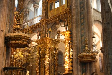 Interior of Cathedral - Santiago