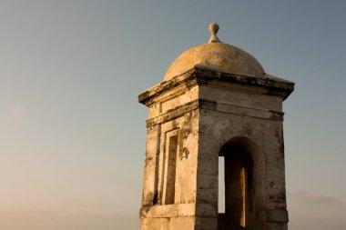 Colonial Wall. Cartagena de Indias
