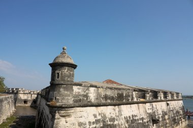 Colonial Wall of Cartagena de Indias