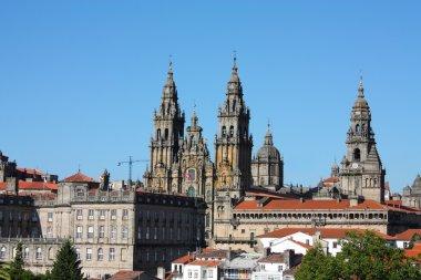 Panoramic, Santiago de Compostela, Spain
