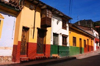 Colonial street. Bogot