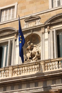 Saint George, Generalitat Palace.