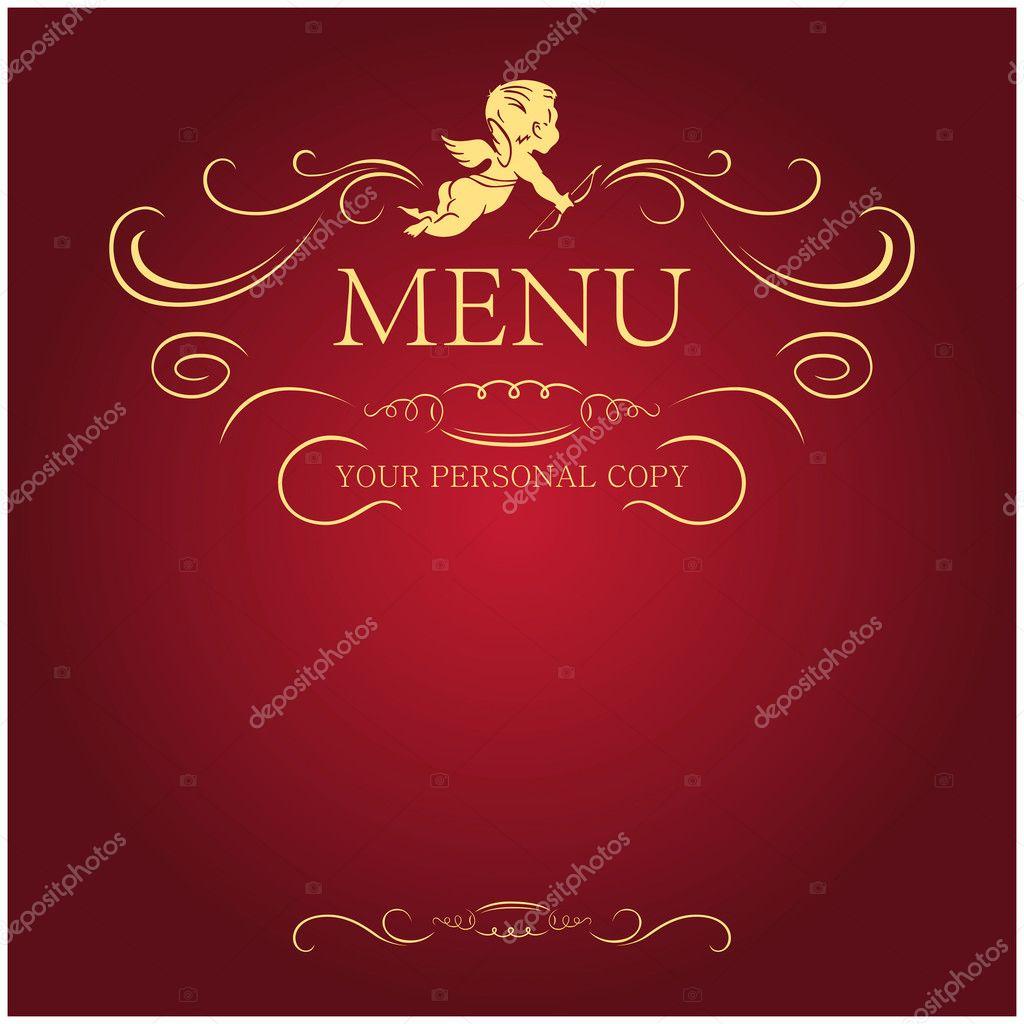 blank menu forms