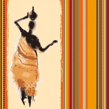 Africa abstract background