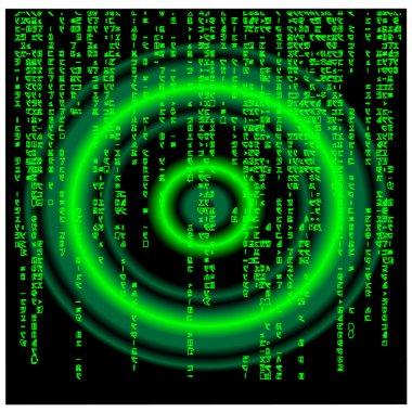 Matrix background.Vector