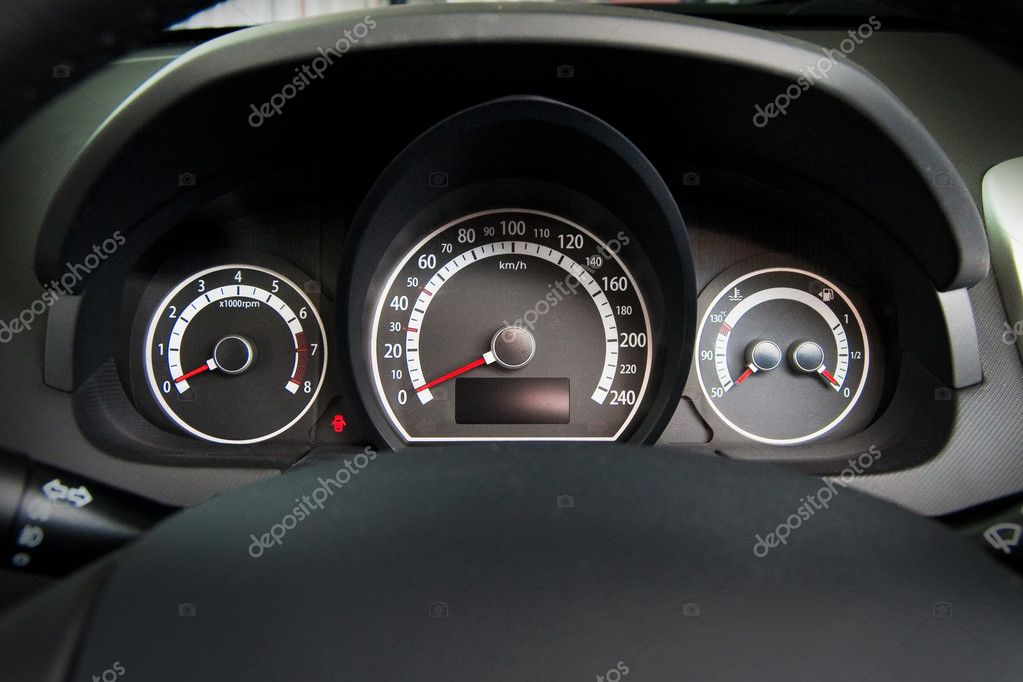 Vehicle Control Panel : Car control panel — stock photo desssphoto